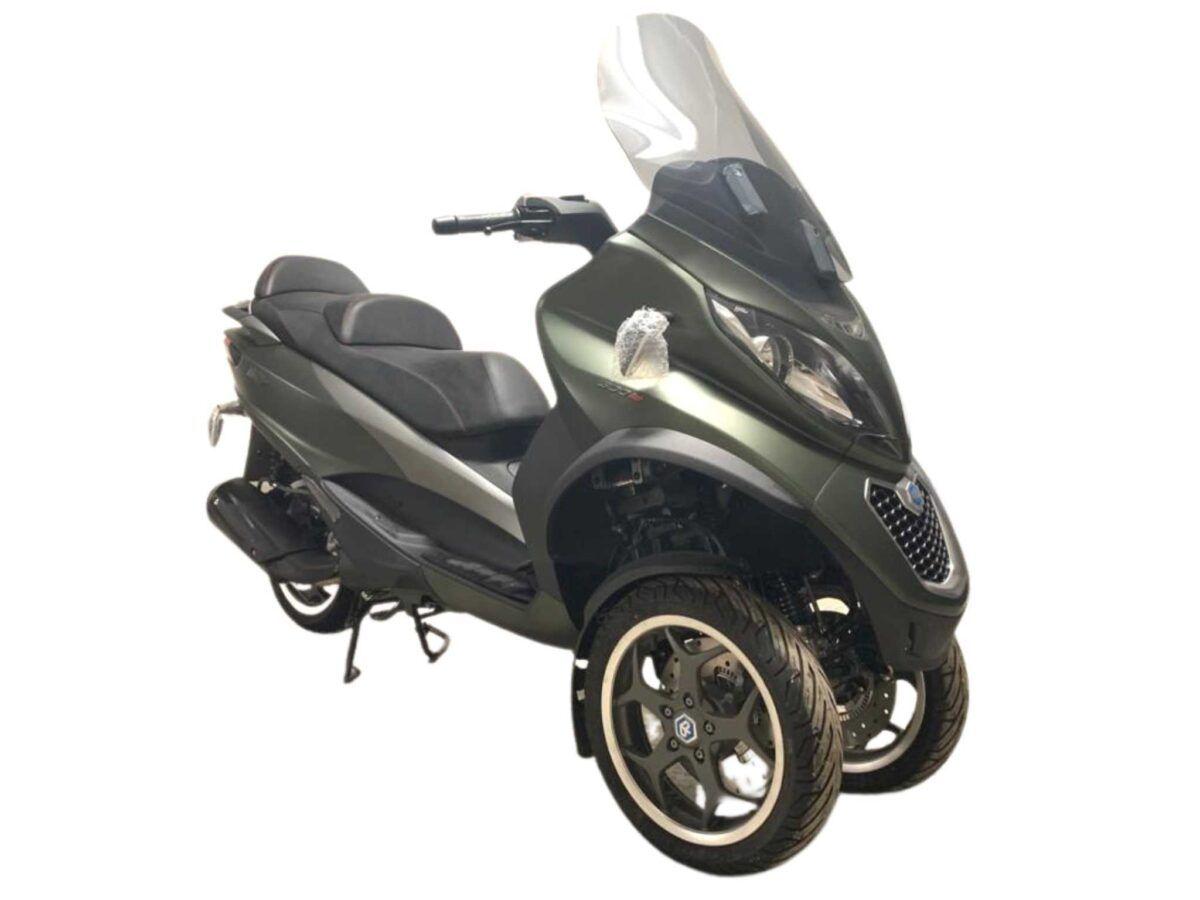 Piaggio MP3 300 sport euro 4 km0 en oferta en color verde