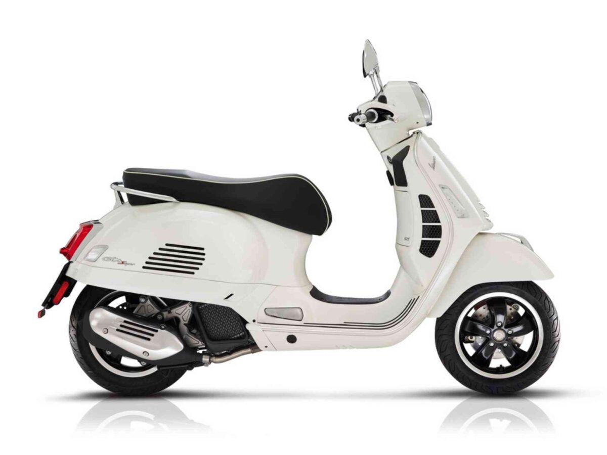 Vespa GTS Super 125 euro 4 en color blanco de oferta