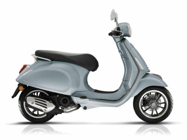 Vespa Primavera 125 S euro 5 de 2021 en color gris