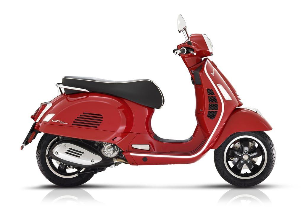 Vespa GTS 300 Super Roja E5 Nueva