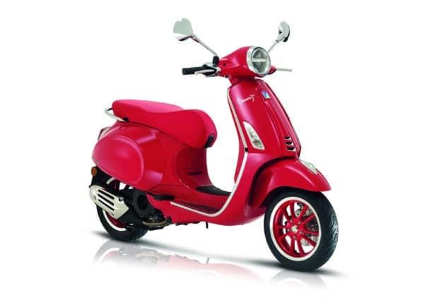 Vespa Primavera 125 RED E% Nueva